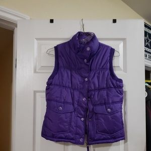 Other - Purple vest.